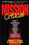 Mission Critical - Joseph C. Picken, Gregory G. Dess