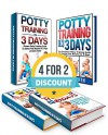 POTTY TRAINING BOX SET: The Ultimate Potty Training Guide To Stress Free Results In 3 Days or Even Faster (Potty Training in 3 Days, Potty Training, Potty Training Books) - Clara Adams, Clara Smith, Jenny White, Jenny Stone