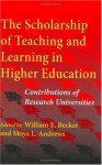 The Scholarship of Teaching and Learning in Higher Education: Contributions of Research Universities - Moya L. Andrews