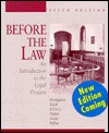 Before the Law: An Introduction to the Legal Process - John J. Bonsignore