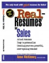Real-Resumes for Sales - Anne McKinney