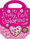 My Pretty Pink Purse Mini Coloring Book - Make Believe Ideas