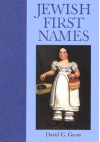 Jewish First Names - David C. Gross