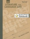 Holt Literature and Language Arts Reader/Writer Notebook: Third Through Sixth Course - Holt Rinehart