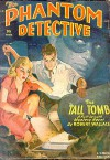 The Phantom Detective - The Tall Tomb - Winter, 1950 54/2 - Robert Wallace
