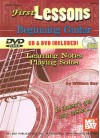 First Lessons Beginning Guitar: Learning Notes / Playing Solos [With CD and DVD] - William Bay
