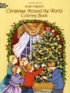 Christmas Around the World Coloring Book (Dover Holiday Coloring Book) - Joan O'Brien