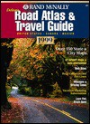 Deluxe Road Atlas & Travel Guide 1999: United States Canada Mexico (Rand Mcnally Road Atlas Mid Size Deluxe) - Rand McNally