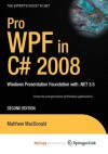 Pro Wpf with C# 2008 - Matthew MacDonald