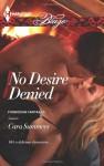 No Desire Denied - Cara Summers
