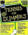 Tennis For Dummies - Patrick McEnroe, John McEnroe, Peter Bodo