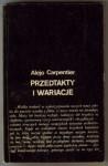 Przedtakty i wariacje - Alejo Carpentier