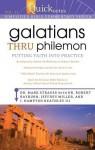 Quicknotes Simplified Bible Commentary Vol. 11: Galatians thru Philemon - Mark Strauss, Robert Rayburn, J. Hampton Keathley III, Jeffrey Miller