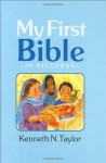 My First Bible In Pictures, baby blue - Kenneth N. Taylor