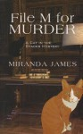 File M for Murder - Miranda James
