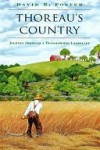 Thoreau's Country: Journey Through a Transformed Landscape - David Foster, Henry David Thoreau