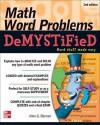 Math Word Problems Demystified 2/E - Allan Bluman