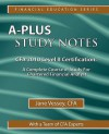 A-Plus Study Notes for Cfa 2010 Level II Certification - Jane Vessey