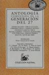 Antologia Comentada de la Generación del 27 - Various