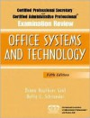 Certified Professional Secretary (CPS) and Certified Administrative Professional (CAP) Examination Review for Office Systems and Technology (5th Edition) - Diane Routhier Graf, Betty L. Schroeder