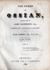 The Poems of Ossian (Vol. 1) - James MacPherson, Ossian