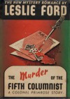 The Murder of a Fifth Columnist - Leslie Ford