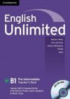 English Unlimited Pre-Intermediate Teacher's Pack (Teacher's Book with DVD-ROM) - Adrian Doff, Howard Smith, Mark Lloyd, Rachel Thake, Cathy Brabben