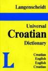 Langenscheidt's Universal Dictionary Croatian - Langenscheidt