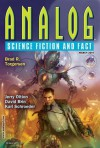 Analog Science Fiction and Fact, March 2014 - Trevor Quachri, Karl Schroeder, Brad R. Torgersen, Megan Chaudhuri, Stephen L. Burns, David Brin, Maggie Clark, Jerry Oltion