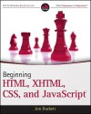Beginning HTML, XHTML, CSS, and JavaScript - Jon Duckett