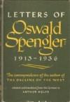 Letters of Oswald Spengler: 1913-1936 - Oswald Spengler