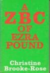 A Zbc Of Ezra Pound - Christine Brooke-Rose
