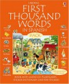 First 1000 Words Pack - Spanish (First Thousand Words) (Usborne First Thousand Words) - Stephen Cartwright