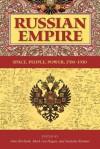 Russian Empire: Space, People, Power, 1700-1930 - Jane Burbank