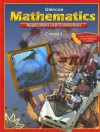 Mathematics: Course 1, Applications And Connections - Glencoe/McGraw-Hill