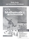 Mathematics: Applications and Concepts, Course 2, Study Guide and Intervention Workbook - Glencoe/McGraw-Hill