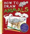 How To Draw 60 Animals - Susie Hodge, Lisa Regan