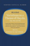Variations on a Theme of Haydn: Norton Critical Score - Johannes Brahms, Donald M. McCorkle