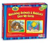 CARDS: Lace-up Cards Matching Animals And Habitats - NOT A BOOK