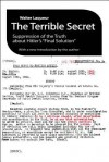 "The Terrible Secret: Suppression of the Truth about Hitler's ""Final Solution"" - Walter Laqueur"