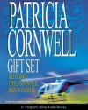 Patricia Cornwell Gift Set: Isle Of Dogs / Cruel And Unusual / Body Of Evidence (Andy Brazil, #3) - Elizabeth McGovern, Kate Reading, Lorelei King, Patricia Cornwell