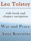 War and Peace, Anna Karenina (with book and chapter navigation) - Leo Tolstoy, Constance Garnett, Forward2, Louise and Aylmer Maude