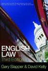 English Law - Gary Slapper, David Kelly