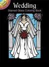 Wedding Stained Glass Coloring Book - Pat Stewart
