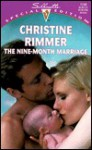 The Nine-Month Marriage (Bravo Family, #1) - Christine Rimmer