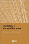 Foundations of Intensional Semantics - Chris Fox, Shalom Lappin