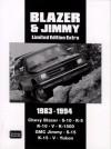 Chevy Blazer & Jimmy Limited Edition Extra 1983-1994 - R.M. Clarke, R. Clarke