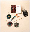 Make Your Own Stained Glass Ornaments: 2based on Medieval Windows [With 6 Silk-Screened Ornaments, Paints, and Silk Cord and Paint Brush] - The Metropolitan Museum Of Art