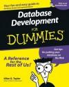 Database Development For Dummies - Allen G. Taylor