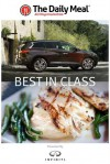 Best in Class presented by the Infiniti QX60 Hybrid - Arthur Bovino, Colman Andrews, The Daily Meal